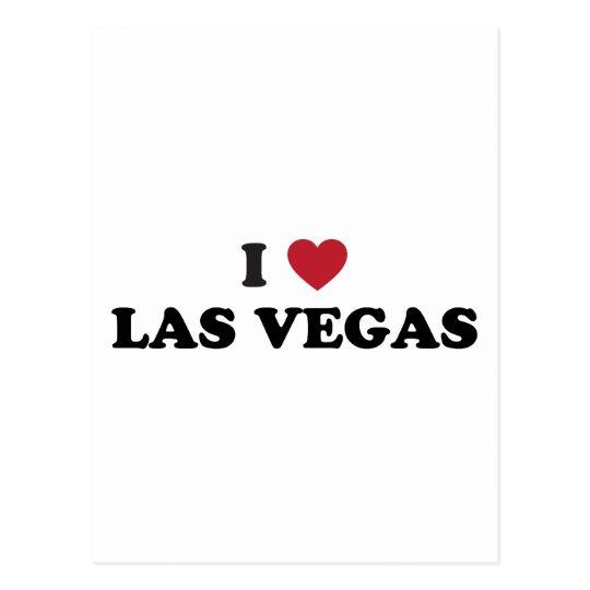 I Love Las Vegas Nevada Postcard