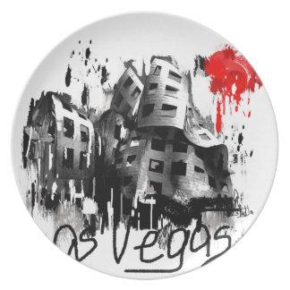 I love Las Vegas Plate