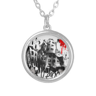 I love Las Vegas Silver Plated Necklace