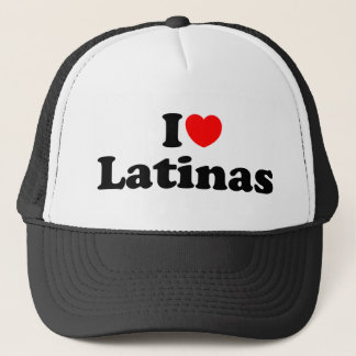 I love latinas trucker hat