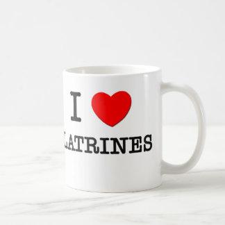 I Love Latrines Coffee Mug