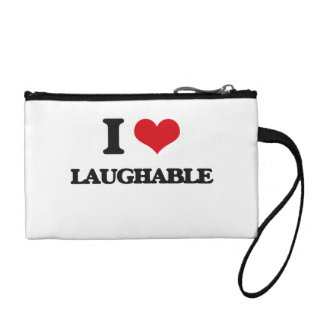 I Love Laughable Coin Purse