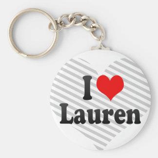 I love Lauren Keychains