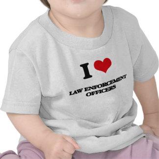 I love Law Enforcement Officers Shirt