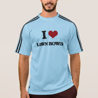 I Love Lawn Bowls Tee Shirts