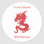 I Love Lawyers - With Ketchup!