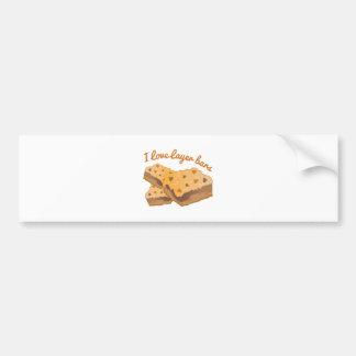 I Love Layer Bars Bumper Stickers