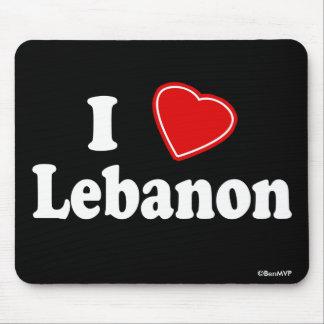 I Love Lebanon Mousepads