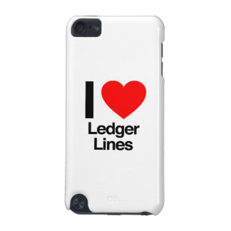 i love ledger lines iPod touch 5G case