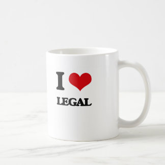 I Love Legal Coffee Mug