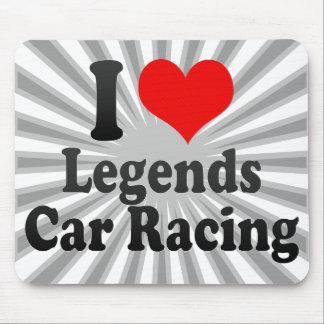 I love Legends Car Racing Mouse Pad