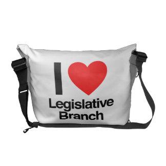 i love legislative branch courier bag