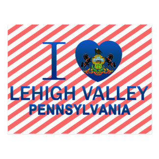 I Love Lehigh Valley, PA Postcard