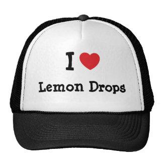 I love Lemon Drops heart T-Shirt Mesh Hat