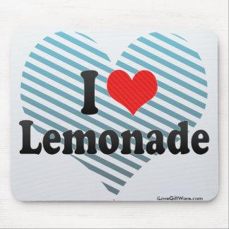 I Love Lemonade Mousepads