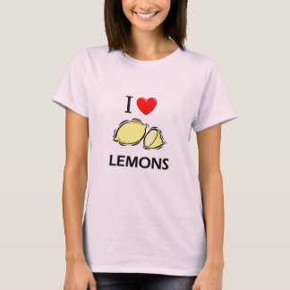 I Love Lemons T-Shirt