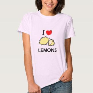 I Love Lemons Tees
