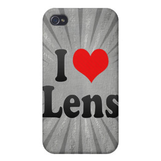 I Love Lens, France. J'Ai L'Amour Lens, France iPhone 4 Covers
