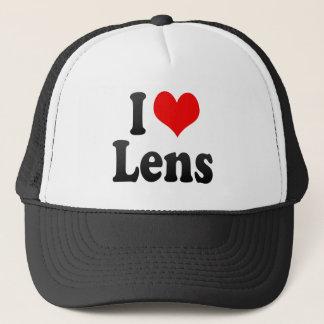 I Love Lens, France. J'Ai L'Amour Lens, France Trucker Hat