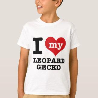I love LEOPARD GECKO T-Shirt