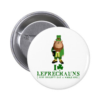 I love Leprechauns Pins