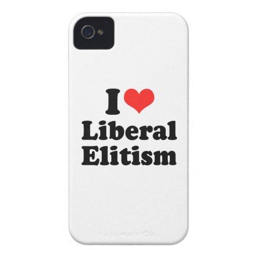 I LOVE LIBERAL ELITISM.png Blackberry Bold Cases