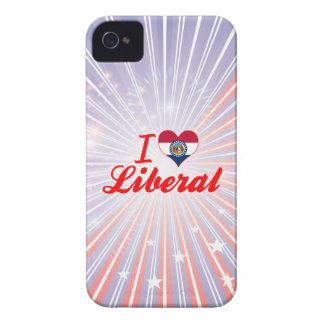 I Love Liberal, Missouri iPhone 4 Covers