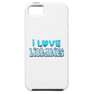 I Love Libraries iPhone 5 Cover