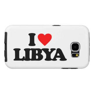 I LOVE LIBYA SAMSUNG GALAXY S6 CASES