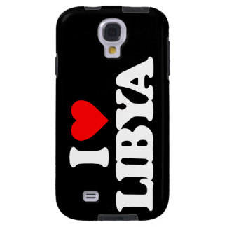 I LOVE LIBYA GALAXY S4 CASE