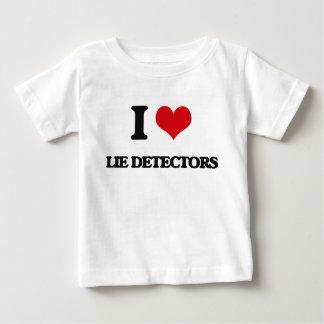 I Love Lie Detectors T Shirt