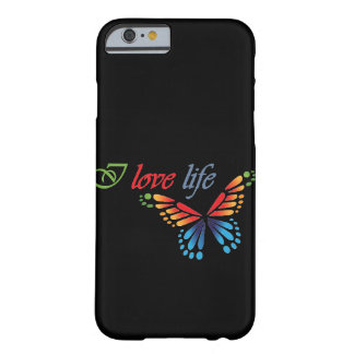 I love life Iphone Barely There iPhone 6 Case