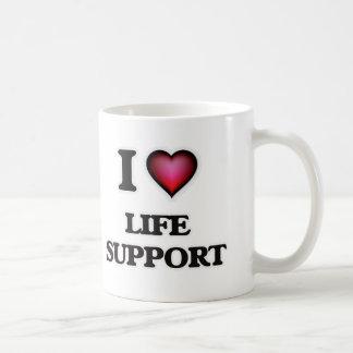 I Love Life Support Coffee Mug