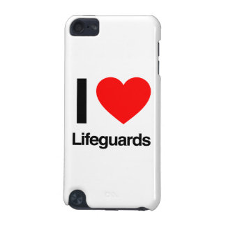 i love lifeguards iPod touch 5G covers