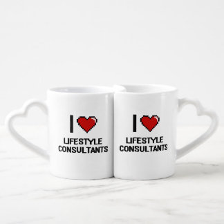 I love Lifestyle Consultants Lovers Mug Set