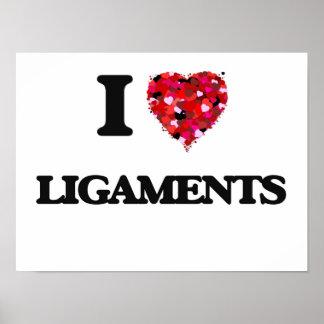 I Love Ligaments Poster