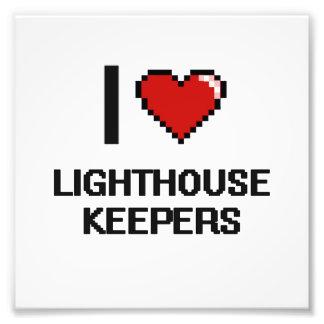 I love Lighthouse Keepers Photo Print
