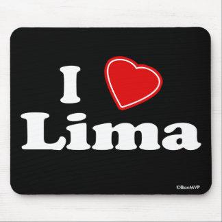 I Love Lima Mouse Pad