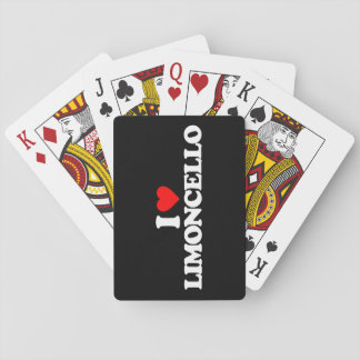 I LOVE LIMONCELLO PLAYING CARDS