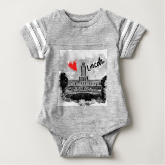 I love Lincoln Baby Bodysuit