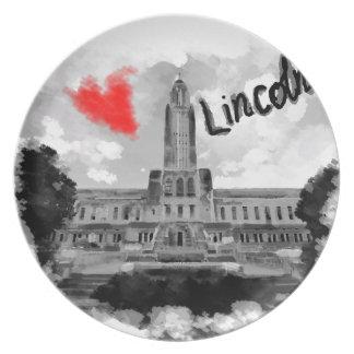 I love Lincoln Plate
