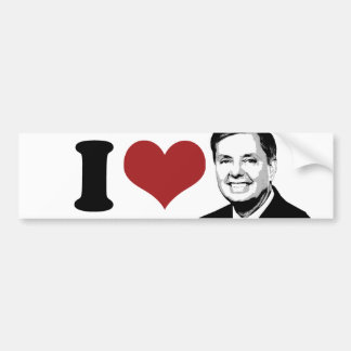 I Love Lindsey Graham for President Bumper --.png Bumper Sticker
