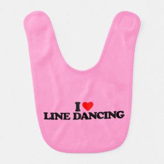 I LOVE LINE DANCING BIBS