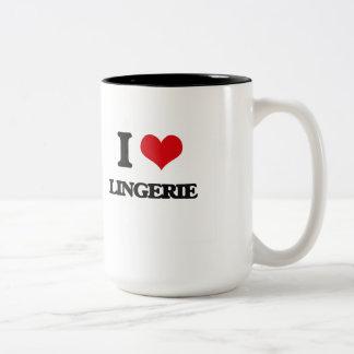 I Love Lingerie Coffee Mug