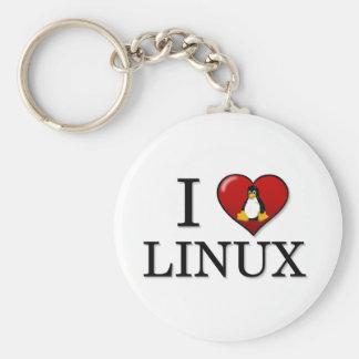 I Love Linux Keychain