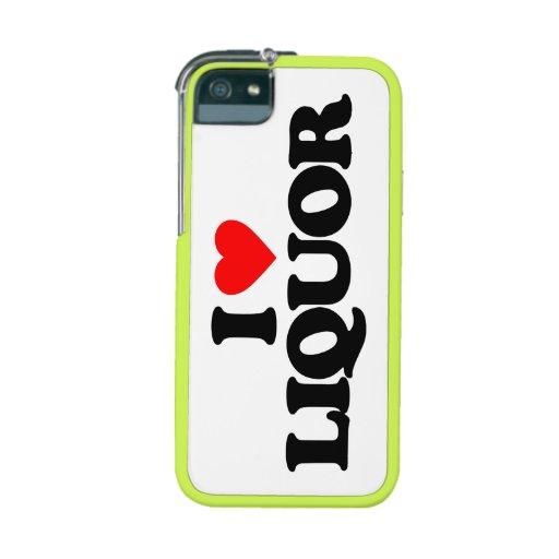 I LOVE LIQUOR CASE FOR iPhone 5/5S