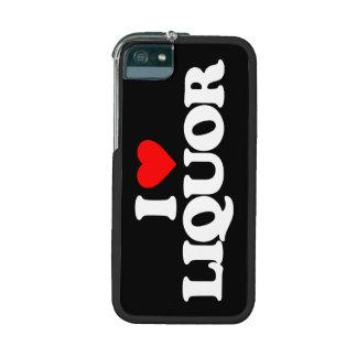 I LOVE LIQUOR iPhone 5/5S CASES