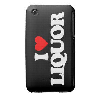 I LOVE LIQUOR iPhone 3 COVER