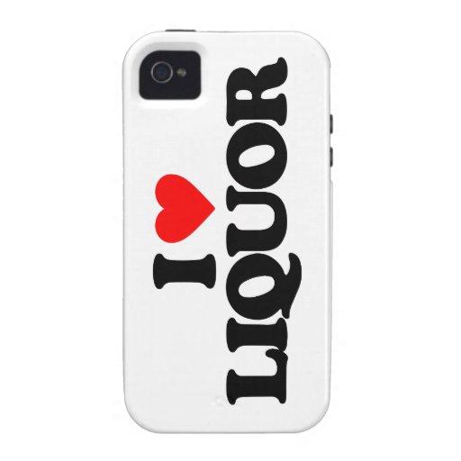 I LOVE LIQUOR iPhone 4/4S COVERS