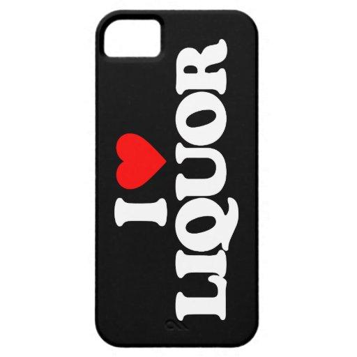 I LOVE LIQUOR iPhone 5 CASE